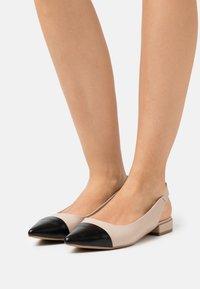s.Oliver - Slingback ballet pumps - nude - 0