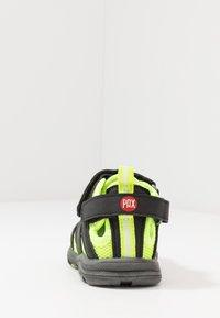 Pax - PEPPER - Chodecké sandály - black/lime - 4