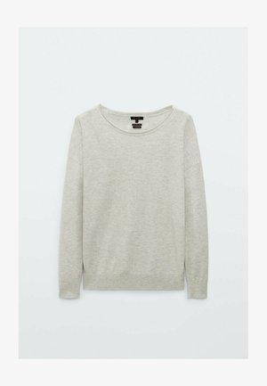 MIT FLEDERMAUSÄRMELN - Sweatshirt - light grey