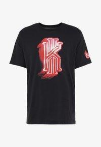 Nike Performance - KYRIE IRVING DRY TEE LOGO - Print T-shirt - black - 4