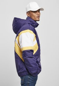 Starter - Winter jacket - starter purple/wht/buff yellow - 3