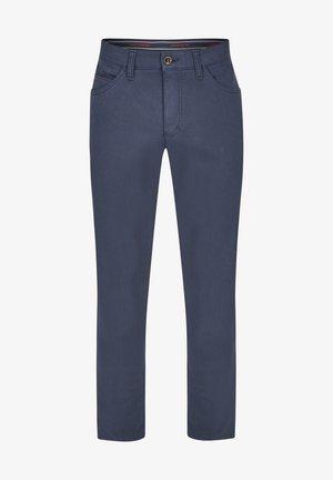5 POCKET-THERMOHOSE - Trousers - dunkelblau