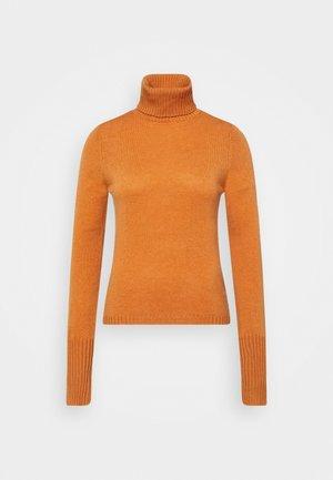 ROLLNECK - Svetr - rust orange