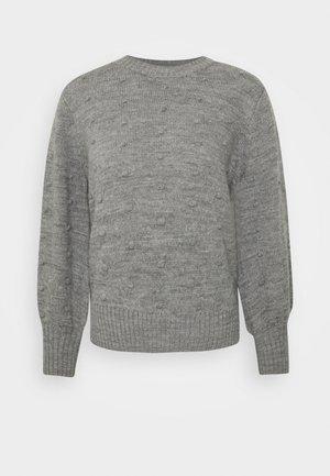 OBJBOUBLE SEASONA - Trui - medium grey melange