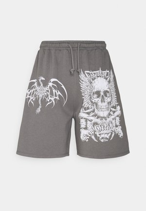 HARDCORE FOR LIFE - Shorts - charcoal