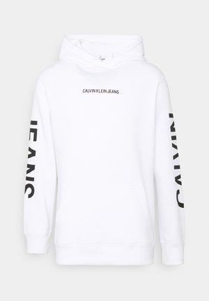 BOLD LOGO HOODIE - Sweatshirt - bright white
