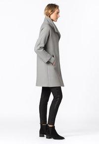 HALLHUBER - Classic coat - silbergrau - 1
