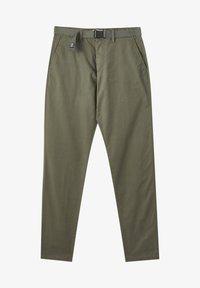 PULL&BEAR - Chino - mottled green - 6