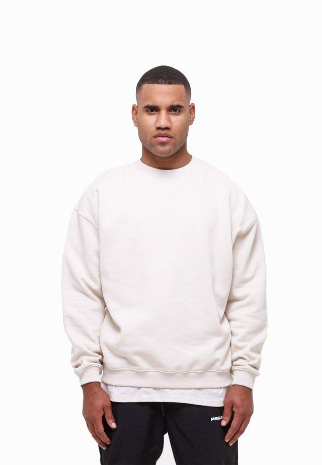 Sweatshirt - coconut milk