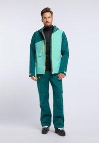 PYUA - FLIGHT - Giacca da snowboard - green - 1