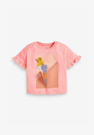 ICE CREAM  - T-shirts print - orange