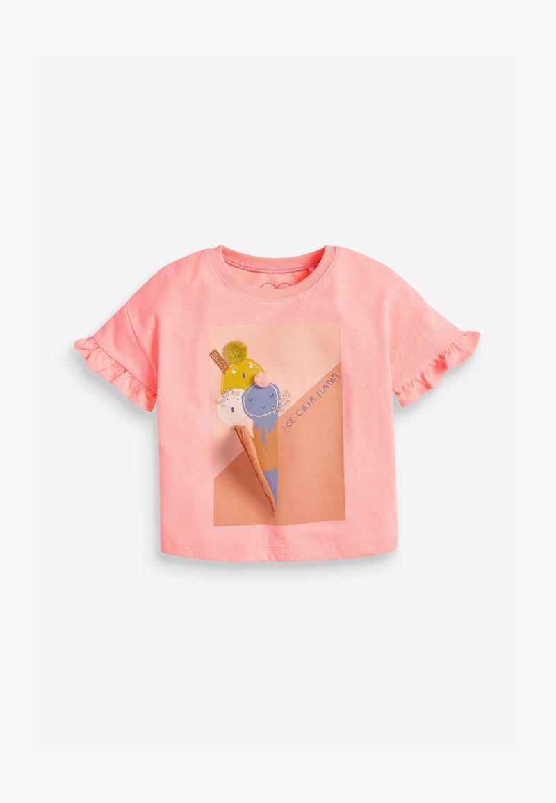 Next - ICE CREAM  - T-shirts print - orange