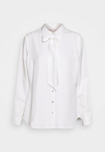BLOUSE BOW SOLID