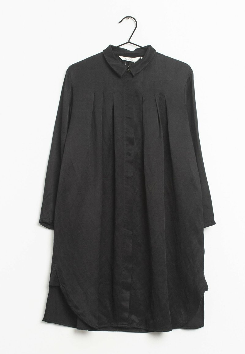 And Less - Blousejurk - black