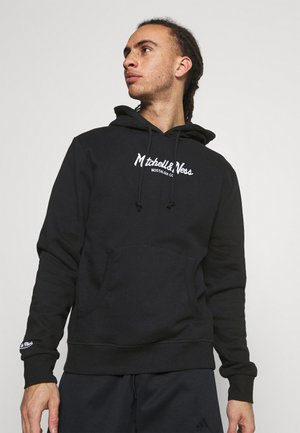 PINSCRIPT HOODY - Sweatshirt - black