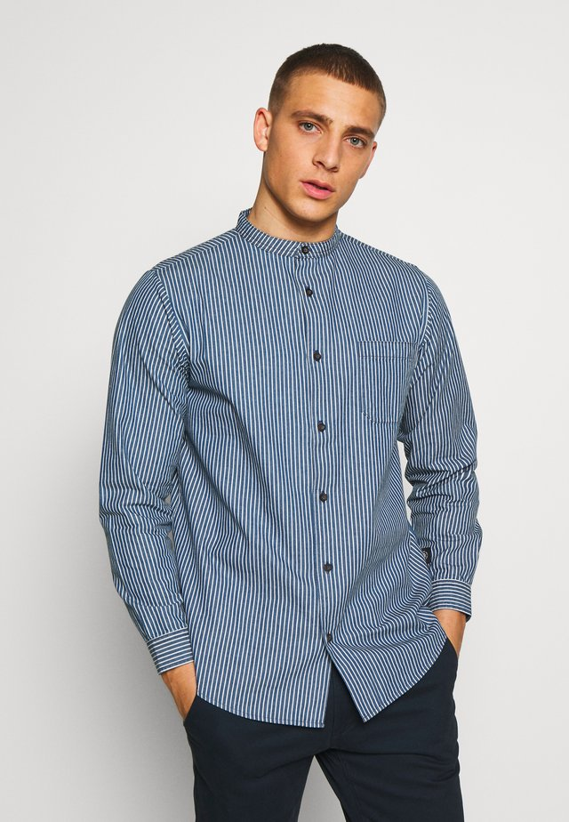 PINSTRIPE  - Shirt - blue