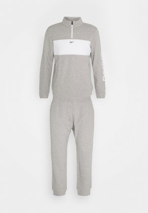 LINEAR LOGO SET - Tuta - medium grey heather