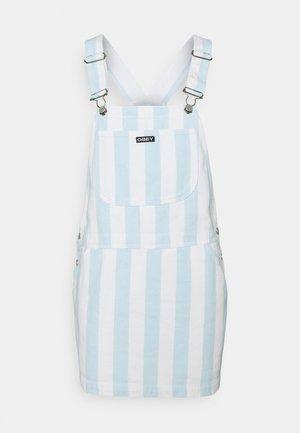 REX OVERALL DRESS - Farkkumekko - china blue