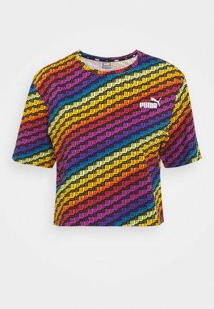 PRIDE TEE - T-Shirt print - black