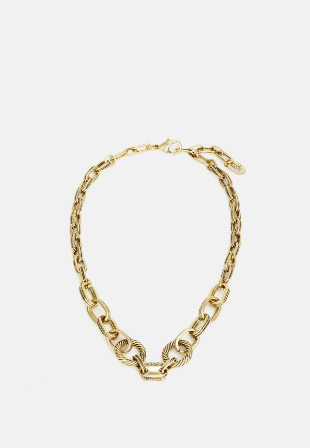 NECKLACE - Collana - antique gold-coloured