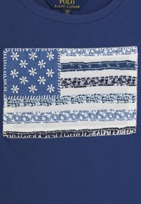 Polo Ralph Lauren - FLAG TEE - Print T-shirt - federal blue - 2