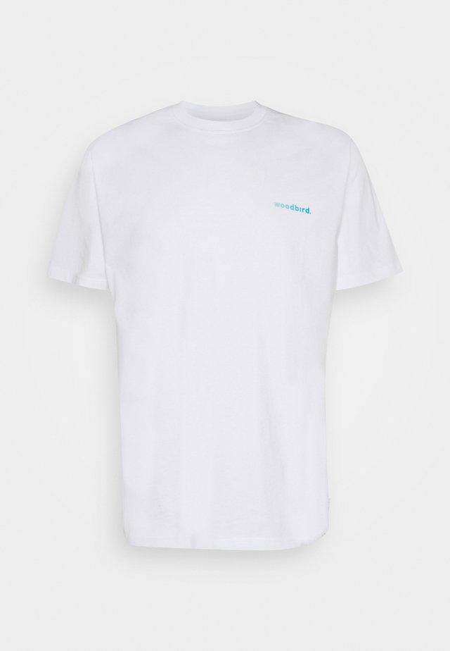 KLIX GRADE TEE - T-shirt print - white