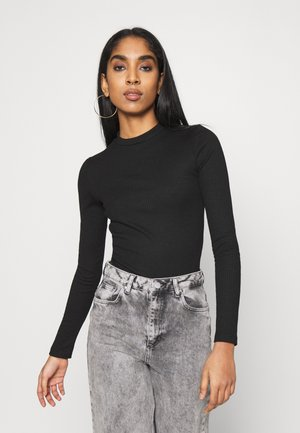 VMMIA HIGHNECK BODY - Long sleeved top - black