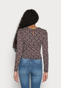 ONLY Petite - ONLPELLA PUFF  - Long sleeved top - black - 2