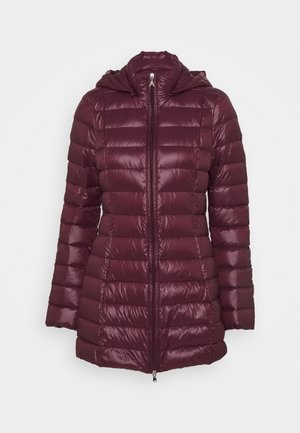 LONG VERSION LIGHT - Down coat - violet swan