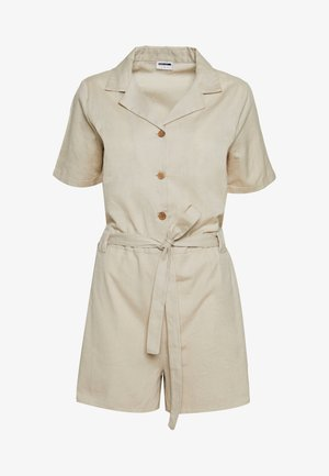 NMHIRAM PLAYSUIT - Overal - oatmeal