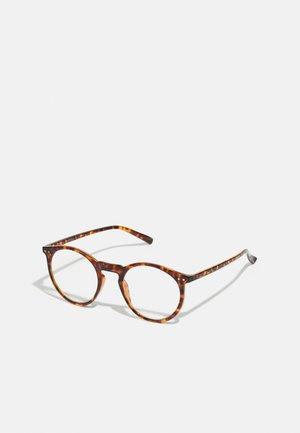 JACLION BLUE LIGHT GLASSES - Overige accessoires - brown stone