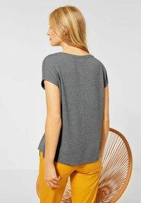 Street One - MIT AUFSCHRIFT - Print T-shirt - grau - 1