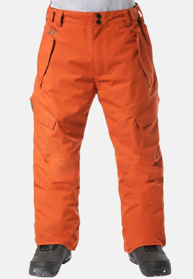 BARS - Snow pants - orange