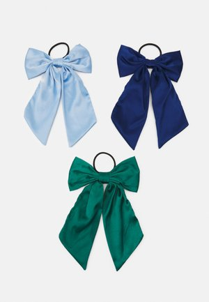 ONLADELKA BOW 3 PACK - Hair styling accessory - blue fog/night sky/hunter