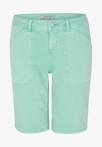 Denim shorts - aqua