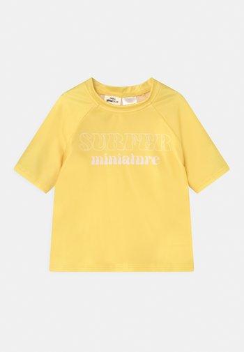 MINI - Rash vest - yellow
