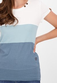 alife & kickin - CLEAAK - Print T-shirt - steel - 4