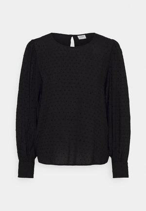 JDYMALONE PUFF TOP - Blouse - black