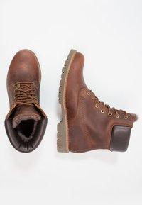 Panama Jack - IGLOO - Lace-up ankle boots - bark - 1