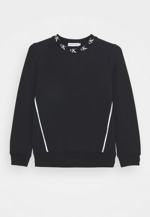 MONOGRAM STRETCH  - Sweatshirt - black