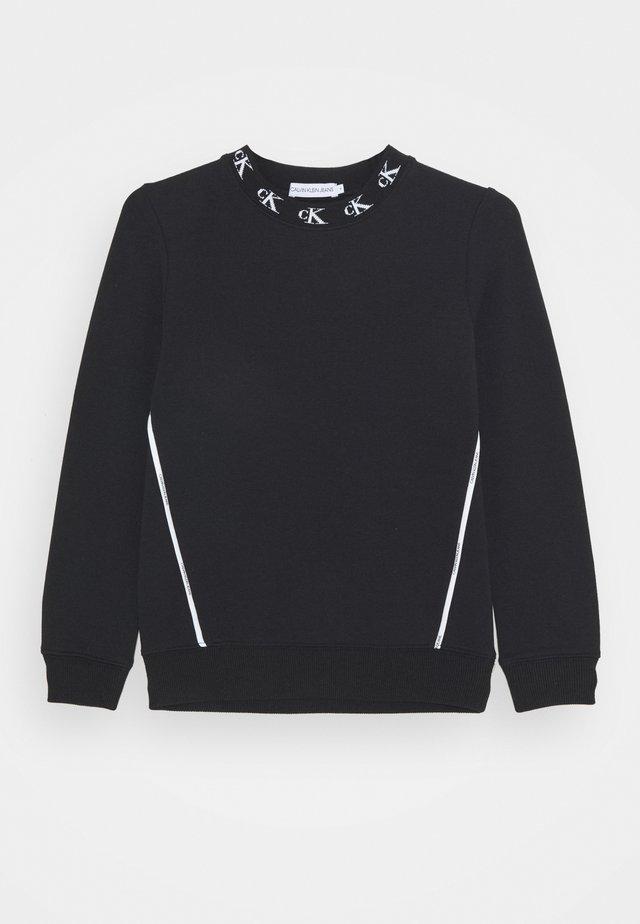 MONOGRAM STRETCH  - Sweatshirt - black