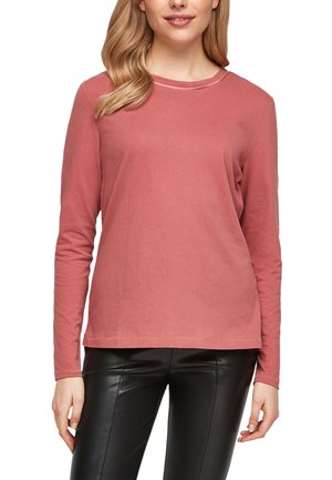 UNICOLOR - Long sleeved top - pale red