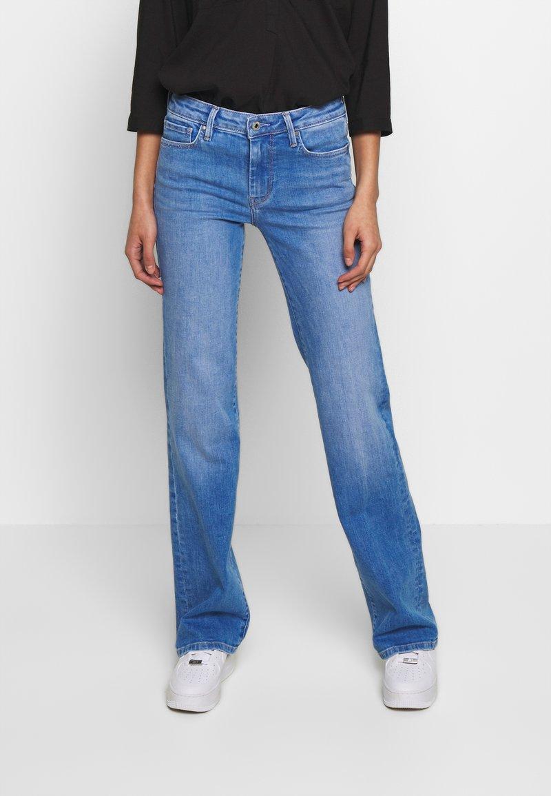 Pepe Jeans - AUBREY - Jeansy Straight Leg - denim