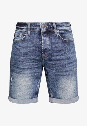 ONSPLY - Denim shorts - blue denim