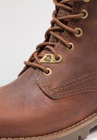 Panama Jack - IGLOO - Šněrovací kotníkové boty - bark - 5