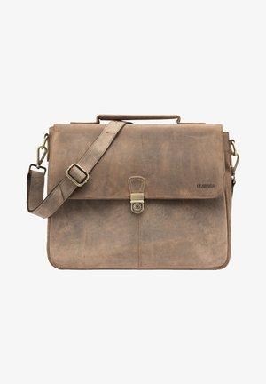 TEXAS - Briefcase - light brown
