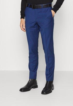 GETLIN - Hlače za moške obleke - open blue