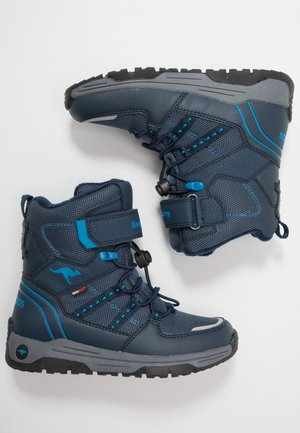 K-NOVICE RTX - Lace-up ankle boots - dark navy/brilliant blue