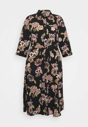 PCEMBER 3/4 MIDI DRESS - Day dress - black