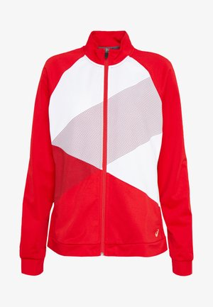 TOKYO WARM UP - Training jacket - classic red/brilliant white
